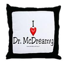 McDreamy Throw Pillow