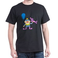 Clown with Balloons T-Shirt