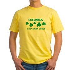 Columbus is my lucky charm T