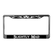Slightly Mad License Plate Frame