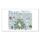 Hippo Holidays sticker