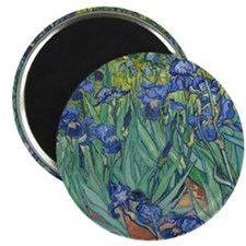 "Irises 2.25"" Magnet (100 pack)"