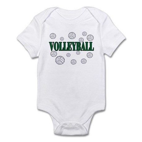volleyball 4 green Body Suit