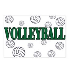 Cute Team volleyball Postcards (Package of 8)