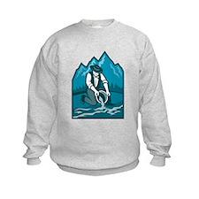 Gold Prospector Miner Pan Retro Sweatshirt