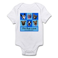 Pitbull Love Infant Creeper