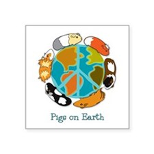 Pigs on Earth Sticker