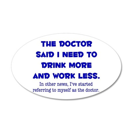 The Doctor Wall Decal