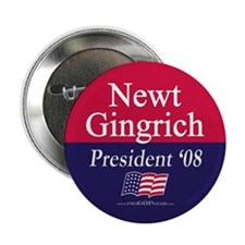 """Newt Gingrich for President"" 2.25"" Button (100)"
