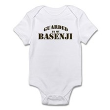 Basenji: Guarded by Infant Bodysuit