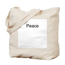Peace T-Shirts and Apparel Tote Bag
