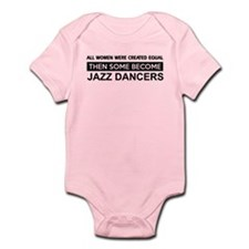 jazz dance designs Infant Bodysuit