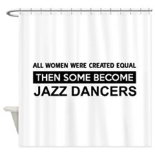 jazz dance designs Shower Curtain