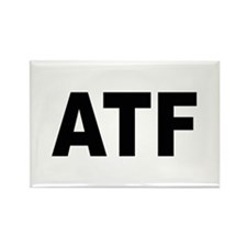 ATF Alcohol Tobacco & Firearms Rectangle Magnet (1