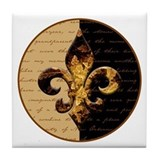 New Orleans Memories Tile Coaster