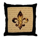 New Orleans Memories Throw Pillow