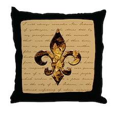 New Orleans Memories Throw Pillow