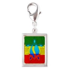 Rasta Flag Honu Charms