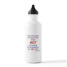 nonemergencyja.jpg Water Bottle