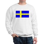 Sweden Blank Flag Sweatshirt