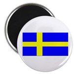Sweden Blank Flag Magnet