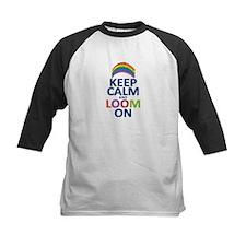 Keep Calm and Loom On Tee