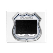 Oklahoma Route 66 - Grey Picture Frame