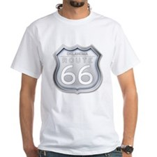 Oklahoma Route 66 - Grey T-Shirt