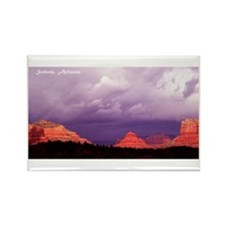 Sedona Mountain Magic Rectangle Magnet (100 pack)