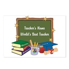 Personalized Teacher Postcards (Package of 8)