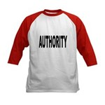Authority (Front) Kids Baseball Jersey