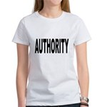 Authority (Front) Women's T-Shirt