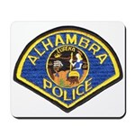 Alhambra Police Mousepad