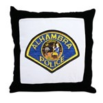Alhambra Police Throw Pillow