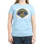 Alhambra Police Women's Pink T-Shirt