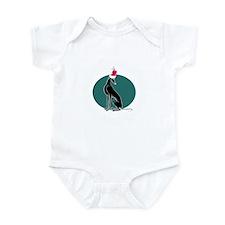 Santa Pip (No Words) Infant Bodysuit