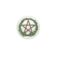 Ivy Pentacle -  Mini Button (10 pack)