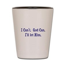 God can (light) Shot Glass