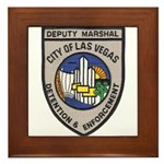 Vegas Marshal Framed Tile