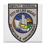Vegas Marshal Tile Coaster