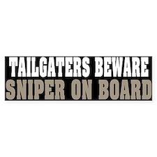 Sniper on Board Bumper Bumper Sticker