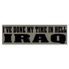 Iraq-Hell Bumper Bumper Sticker