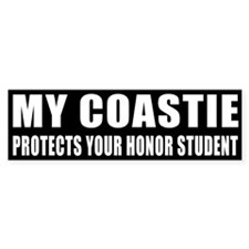 USCG Honor Student Bumper Sticker