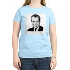 Richard Nixon Women's Pink T-Shirt