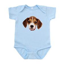Beagle face 002 Body Suit