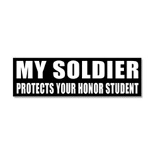 USA Honor Student Car Magnet 10 x 3
