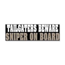 Sniper on Board Car Magnet 10 x 3