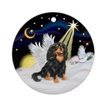 Tri Cavalier Angel Ornament (Round)