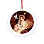 Angel 1 - Blenheim Cavalier Ornament (Round)