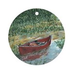 Paddle Faster Ornament (Round)